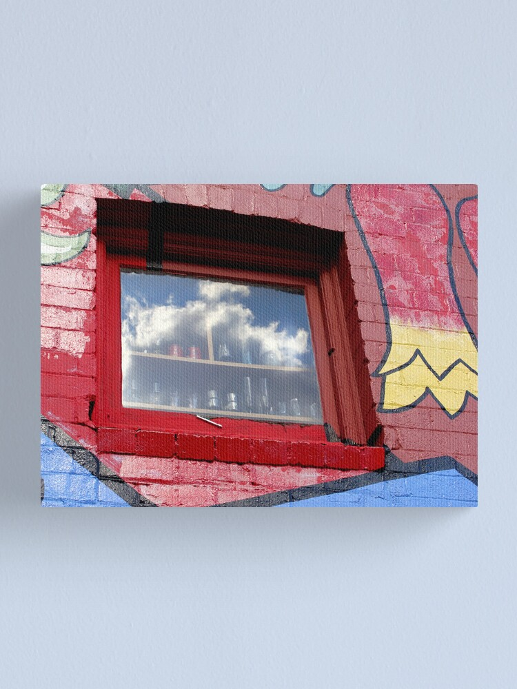 Alternate view of Cloudy Outlook Canvas Print