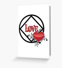 NA Symbol ~ Liebe Grußkarte