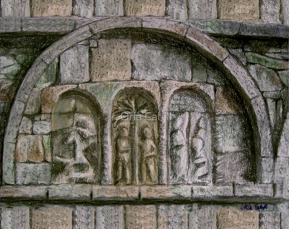 Relief Detail - Ardmore Waterford by Orla Cahill