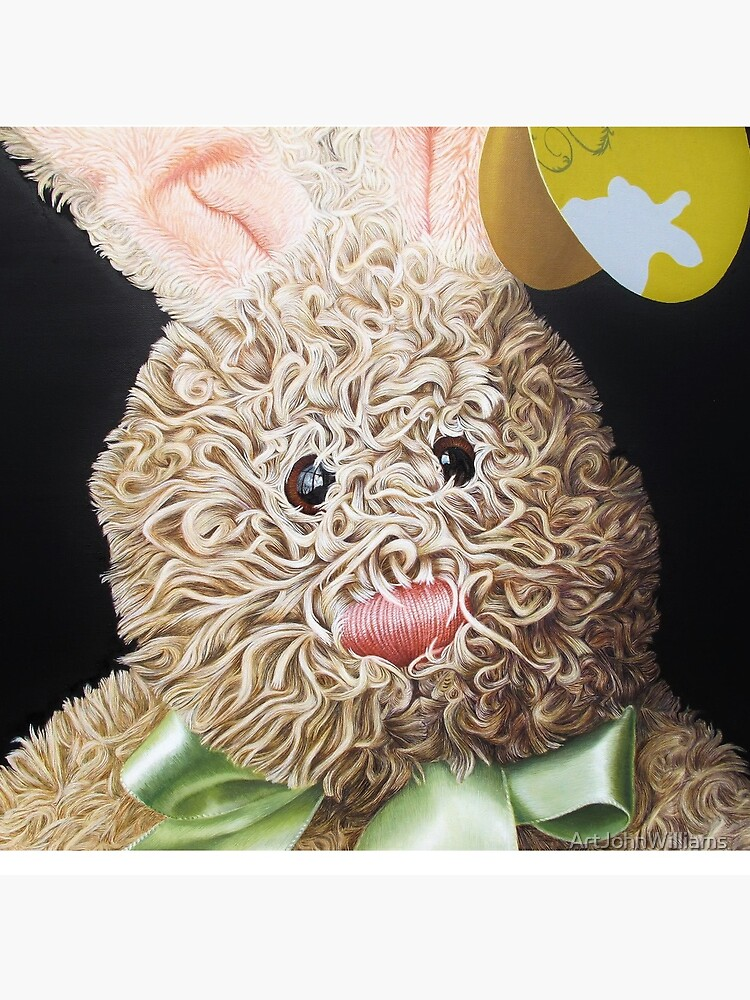 Happy Bunny by ArtJohnWilliams