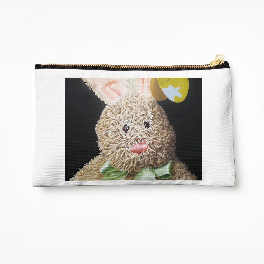Happy Bunny Zipper Pouch
