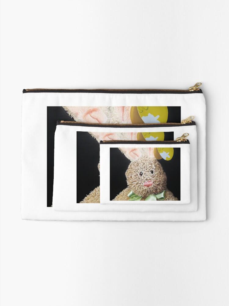 Alternate view of Happy Bunny Zipper Pouch