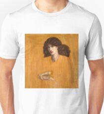 Dante Gabriel Rossetti, The Lady of Pity, 1881 Unisex T-Shirt
