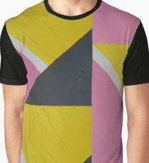 Colourblock - pink, yellow, slate grey Graphic T-Shirt