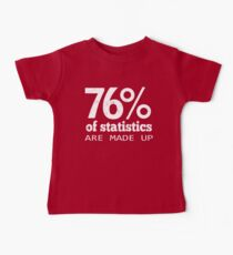 76% Statistics Are Made Up Kids Clothes