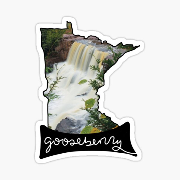 Gooseberry Falls Minnesota Sticker
