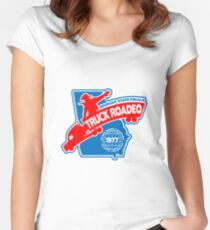 Truck Rodeo  Women's Fitted Scoop T-Shirt
