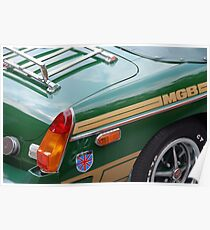 The art of the car: MGB < Poster
