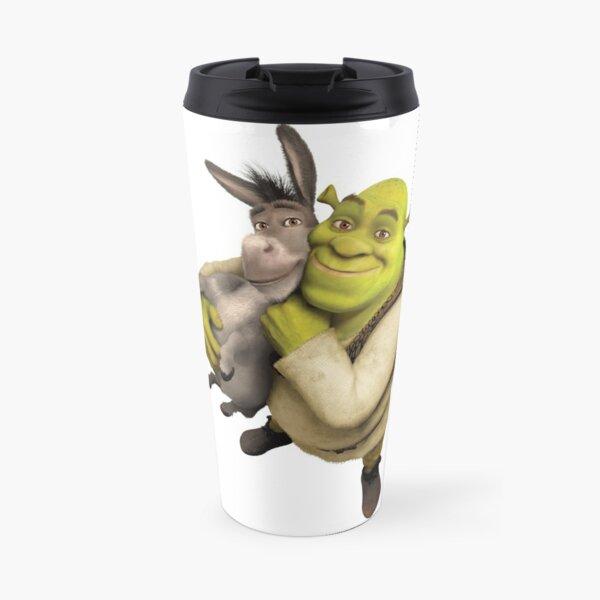 Shrek and Donkey Travel Mug