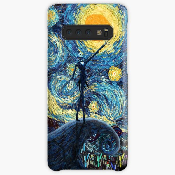 Jack Scary night abstract paintings Samsung Galaxy Snap Case