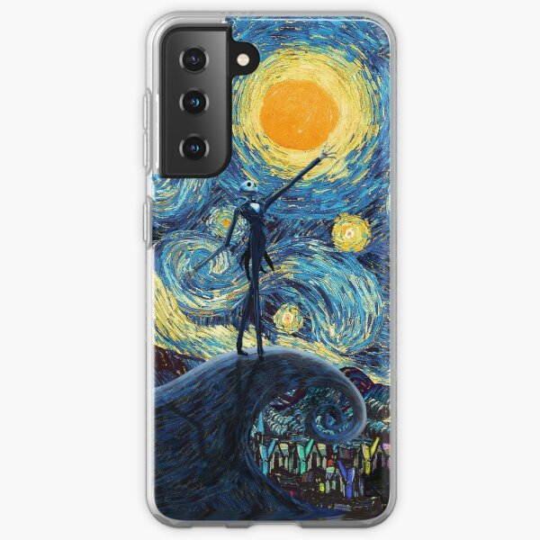 Jack Scary night abstract paintings Samsung Galaxy Soft Case