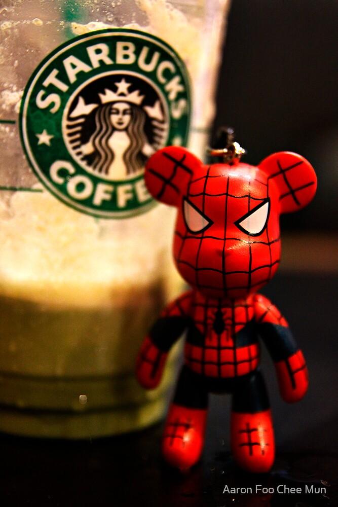 Starbucks Spider Bear by Aaron Foo Chee Mun