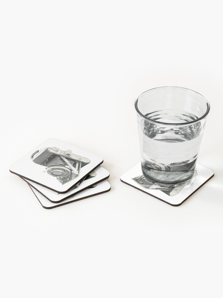 Alternate view of Welta Camera #2 Coasters (Set of 4)