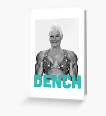Dame Judi DENCH Greeting Card