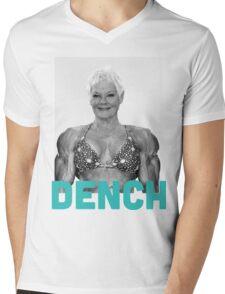 Dame Judi DENCH Mens V-Neck T-Shirt
