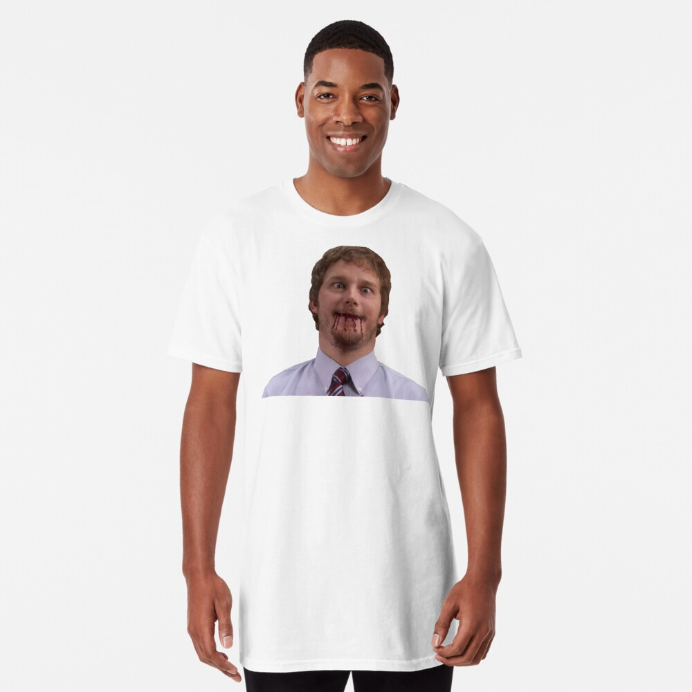 Andy Dwyer Long T Shirt By Maves Redbubble