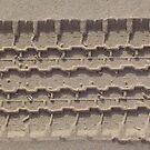 4WD Tyre Track by Lou Van Loon