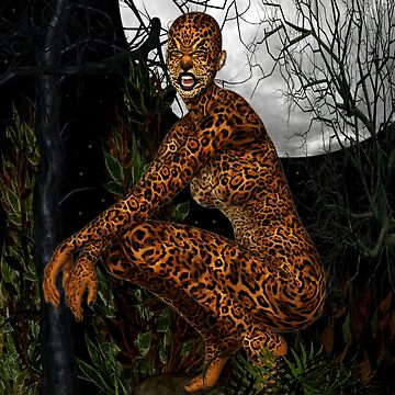 The Jungle Cat .. Fantasy by LoneAngel