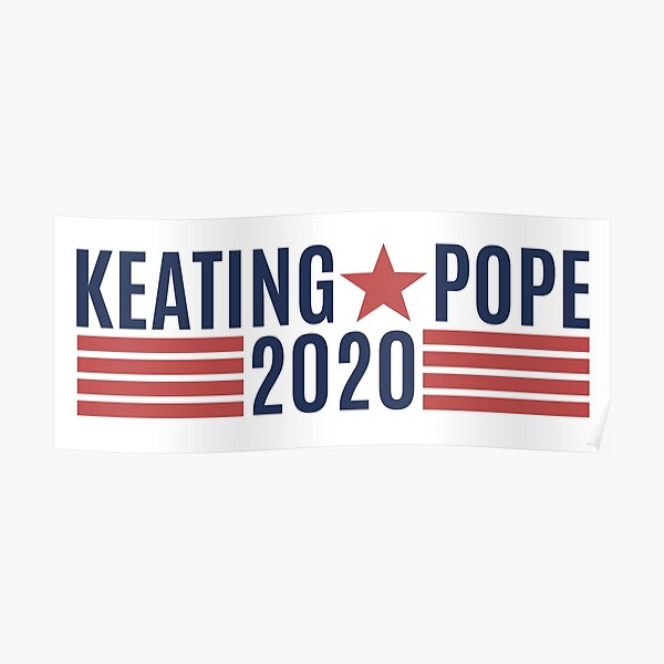 Keating Pope 2020 Póster