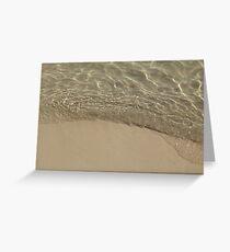 Beach Ripple 2 Greeting Card