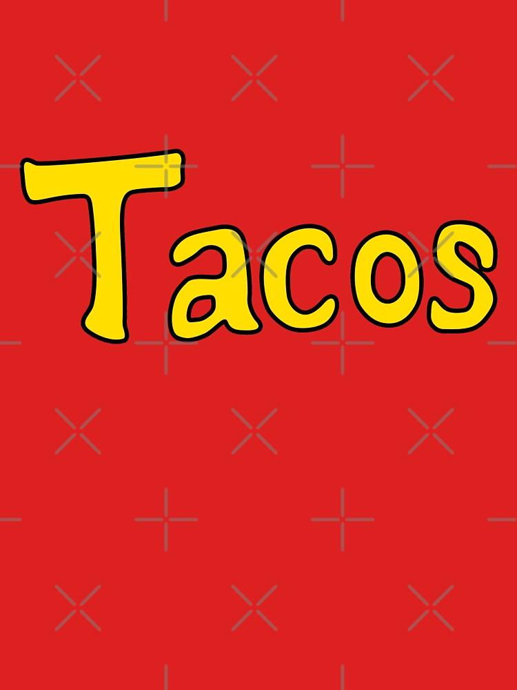 Tacos-Hemd von audreyyun
