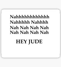Hey Jude - The beatles Sticker