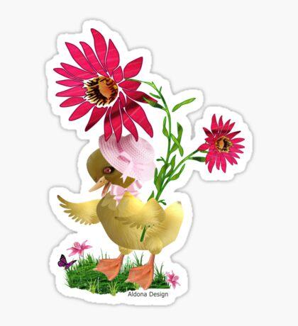 Little Duckling Sticker