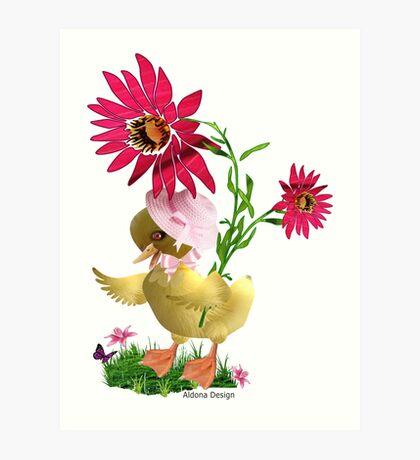 Little Duckling Art Print