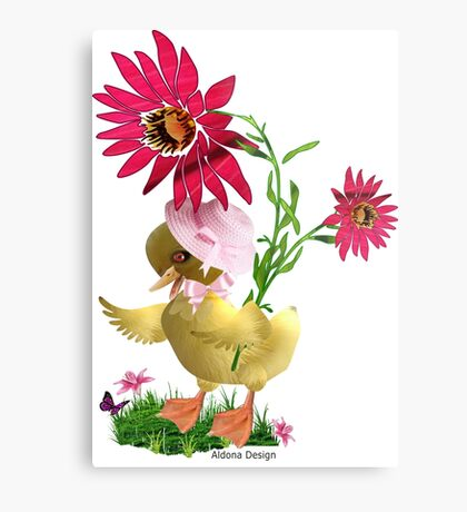 Little Duckling Metal Print