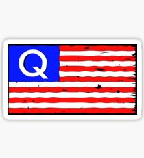 QAntagsflagge Sticker