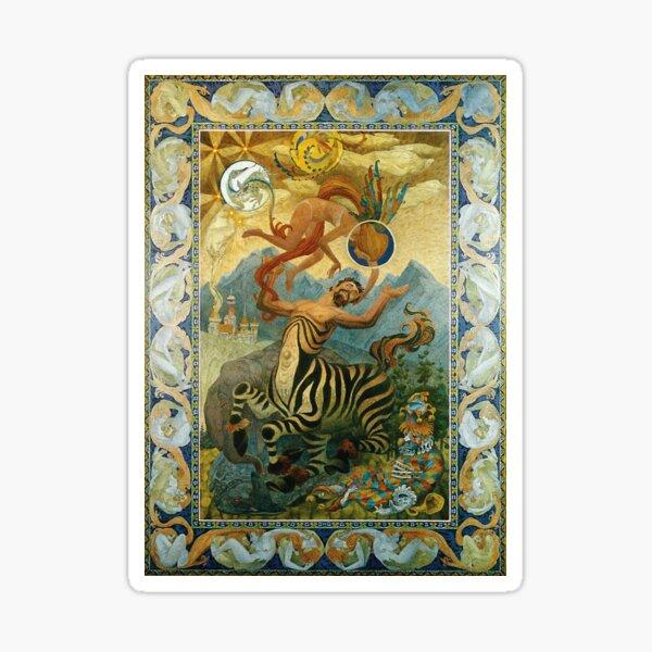 """How Beautiful"" Oliver Grimley Fine Art Sticker"
