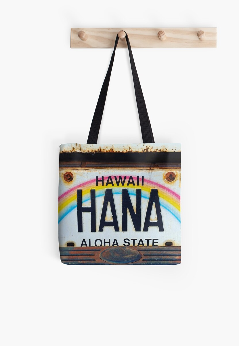 Hana License Plate by Angelina Hills