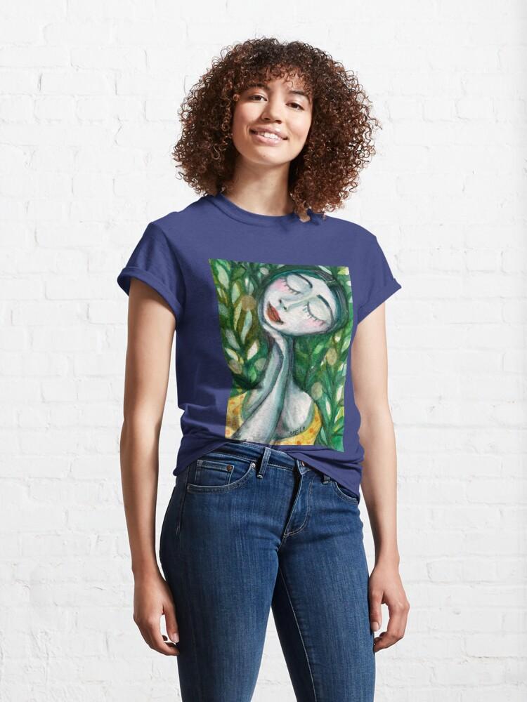 Alternate view of Green Girl Classic T-Shirt