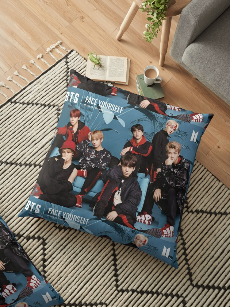 Bts face yourself floor pillows by jogtest redbubble bts face yourself by jogtest solutioingenieria Gallery
