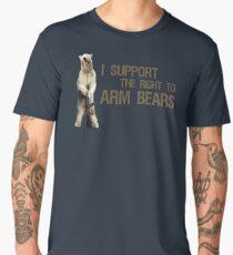 I Support the Right to Arm Bears, Polar Bears Men's Premium T-Shirt