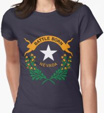 nevada Women's Fitted T-Shirt