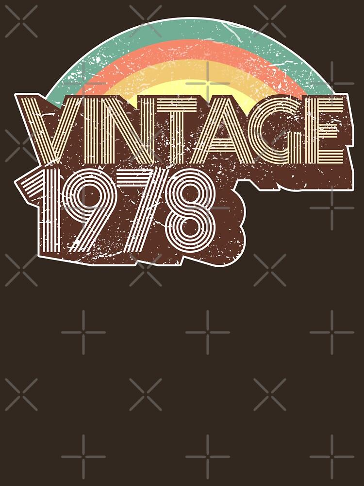 Vintage 1978 Distressed Birthday by styleuniversal