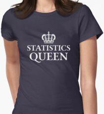 Statistics Queen Women's Fitted T-Shirt