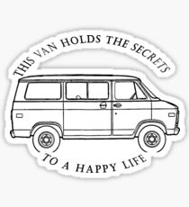 Van Life Apperal Stickers | Redbubble