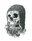 Templar Skull by Matthew Sergison-Main