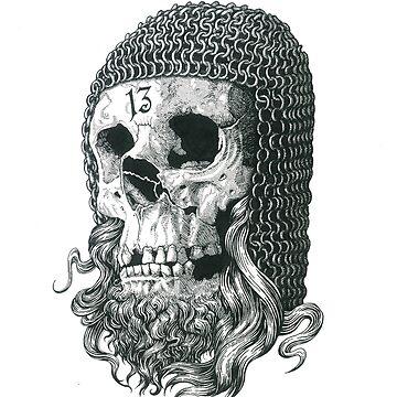 Templar Skull by serge-o-sketch