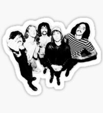 Sticky Fingers Band Sticker