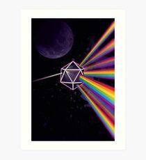 Pink Floyd Dunkle Seite des Mondes Dungeons & Dragons Kunstdruck