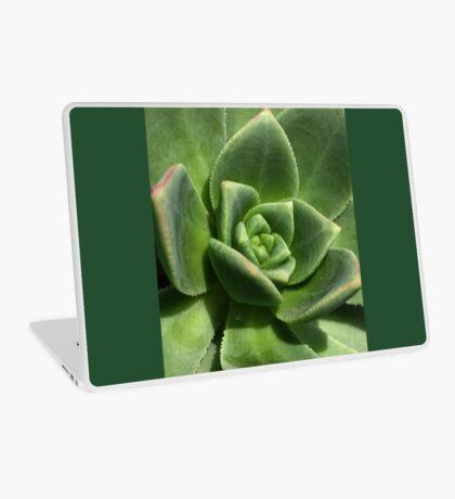 Green Faced Laptop Skin