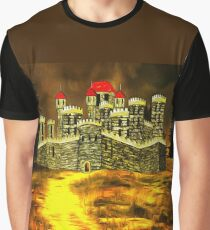 Duke of York's Sandal Castle, Wakefield, West Yorkshire, England 1460 (includes video) Graphic T-Shirt