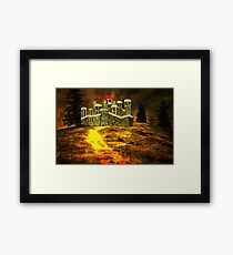 Duke of York's Sandal Castle, Wakefield, West Yorkshire, England 1460 (includes video) Framed Print
