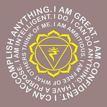 Yoga Yogi Manipura Solar Plexus Chakra Birthday Christmas by smily-tees