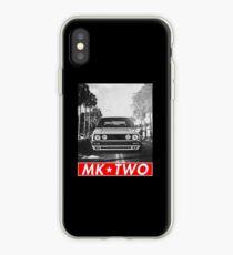 Vinilo o funda para iPhone Golf 2 GTI MK2 & quot; Redstriped & quot;