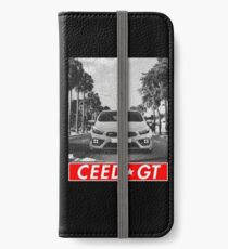 Ceed GT & quot; Redstriped & quot; iPhone Wallet/Case/Skin