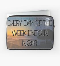 Every day of the week... Laptop Sleeve